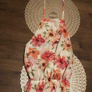 Show Me Your MuMu Halter Top Maxi Dress